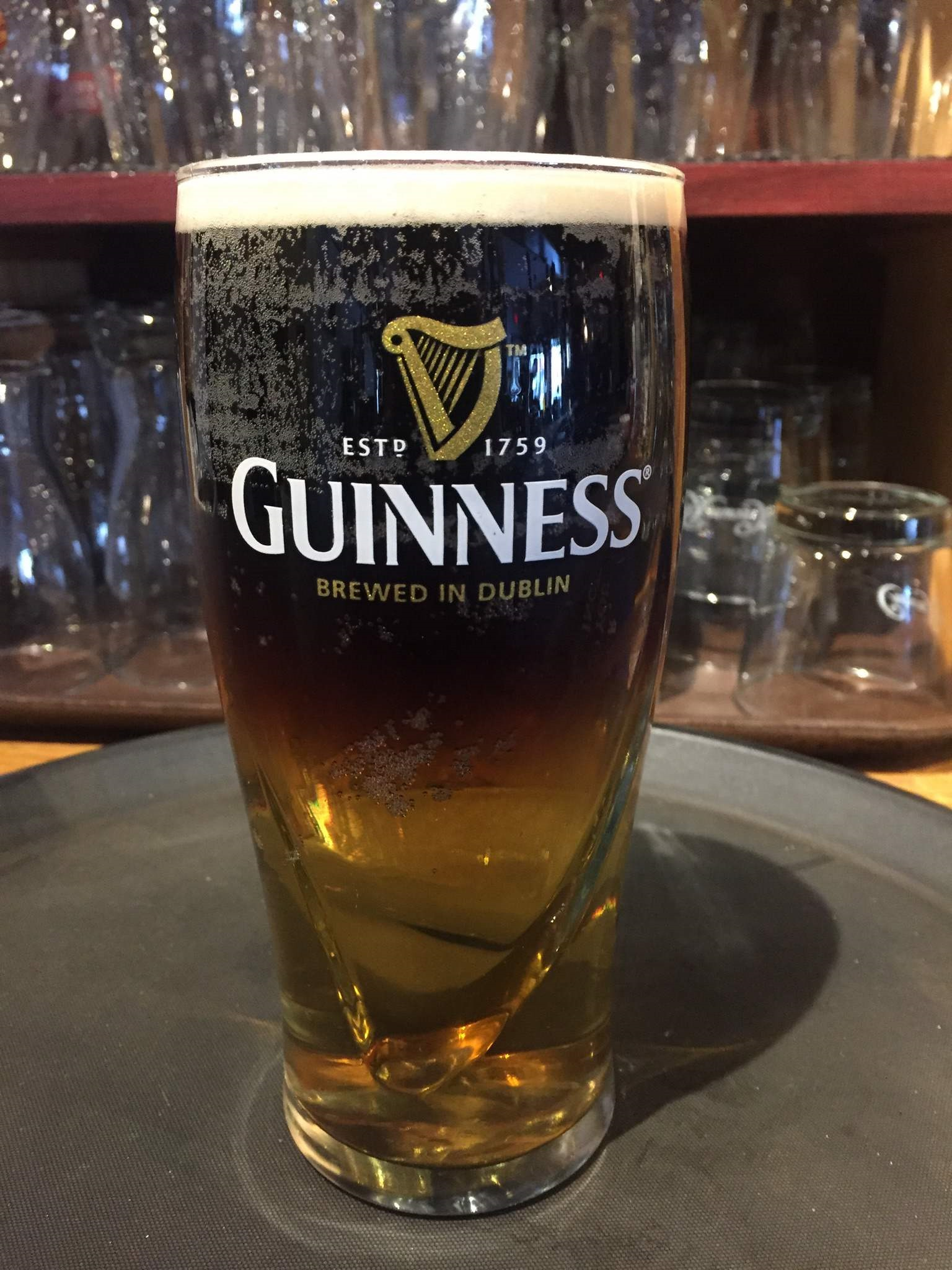 Picture of a pint of Guinness